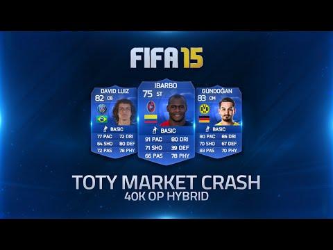 TOTY MARKET CRASH INSANE 40K SQUAD BUILDER!   FIFA 15 Ultimate Team