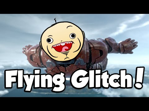 FLYING GLITCH! (Call of Duty: Advanced Warfare Funny Glitches)