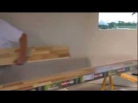 How To Install A Locking Hardwood Floor   DIY Reviews!