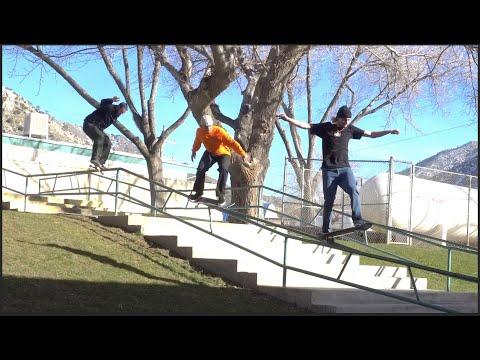 SC Team Vs. MASSIVE Kinked Rail! | Santa Cruz Skateboards