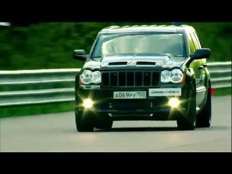 Audi R8 V10 vs Jeep SRT 8 vs Nissan GT R vs BMW X6