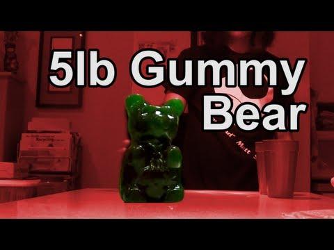 Worlds Largest Gummy Bear Challenge