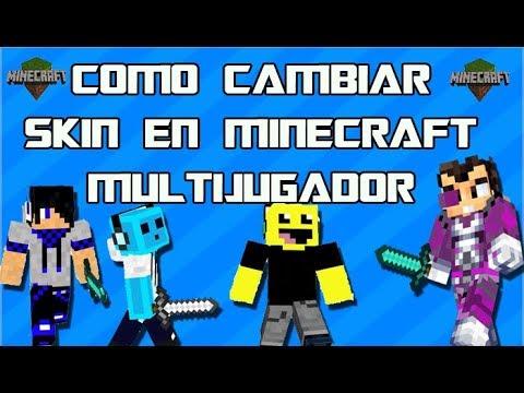 Como cambiar skin en Minecraft