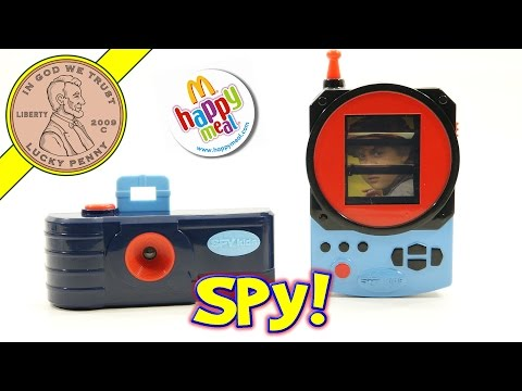Spy Kids. Spy Gear McDonald's 2001 Happy Meal Fast Food Kids Complete 9 Toy Set