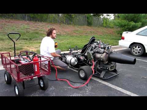Boeing Jet Powered Go Kart: FOR SALE!