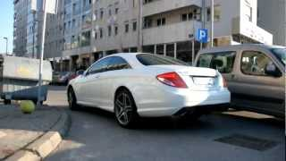 Mercedes CL63 AMG| Start up and sound.