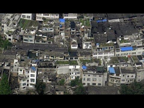 image vid�o  مقتل 28 شخصا جراء هزة أرضية ضربت جنوب غرب الصين
