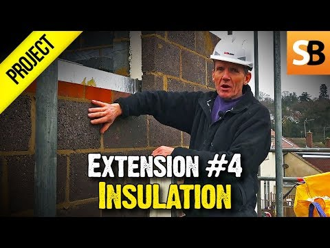 Building an Extension #4 - Brickwork & Insulation