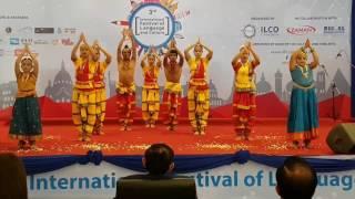 Priyanshi Performance in International Festival of language and Culture Phnom Penh