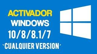 Como Activar Windows 10/8/8.1/7 Todas las Versiones Permanentemente [2018]
