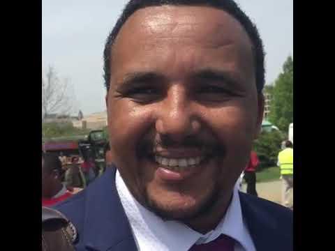 Jawar Mohammed in Washington 2016 Oromo protest thumbnail