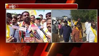 Mahakutami Candidate Ganesh Gupta Speeds Up Election Campaign in Shamshabad