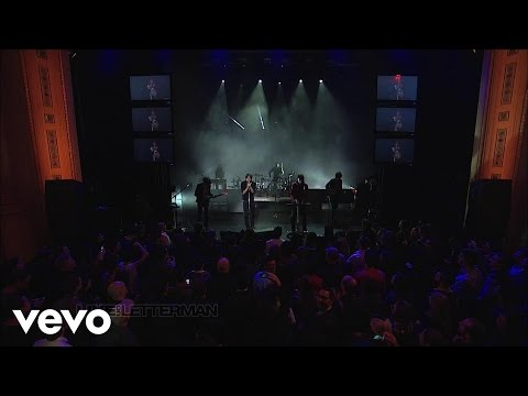 Phoenix - The Real Thing (Live on Letterman)