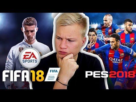 FIFA 18 ИЛИ PES 2018?