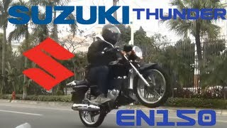 Suzuki Thunder EN150-A Review