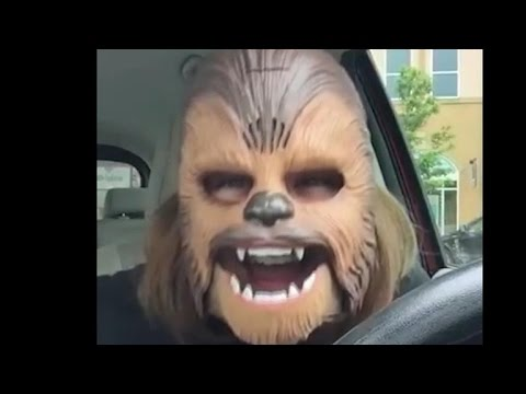 Woman in Chewbacca mask breaks Facebook live record view