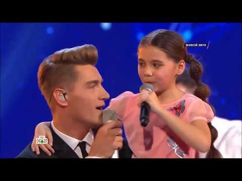 Алексей Воробьев на Ты супер спел хит Я тебя люблю и подарил микрофон участнице Василине