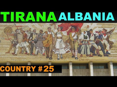 A Tourist's Guide to Tirana, Albania.  www.theredquest.com