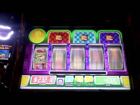 Price is Right slot machine bonus win at Sands Casino