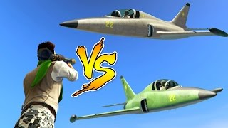 DODGE THE JET! - JETS VS RPG's - INSANE NEW GAME MODE! (Join Me On Sunday!) GTA 5 Online