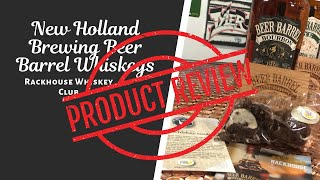 New Holland Brewing Beer Barrel Whiskeys Rackhouse Whiskey Club Review// Mixed Up With TGM