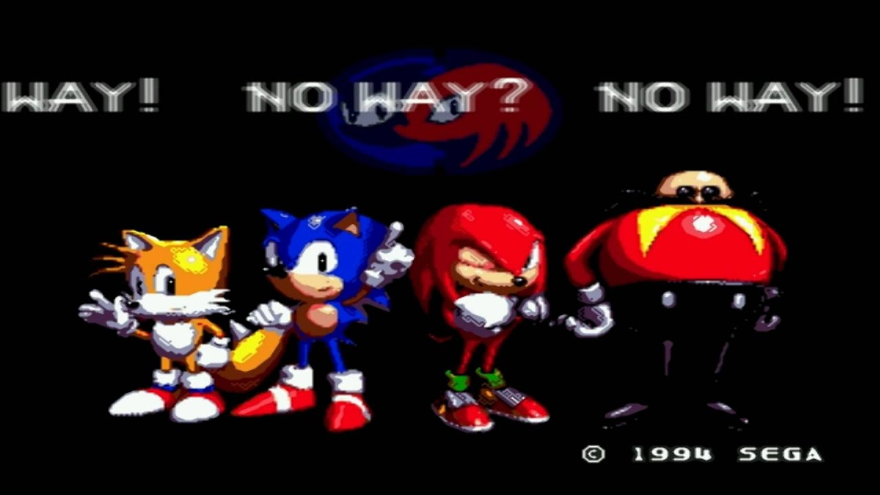 Sonic Amp Knuckles No Way Youtube