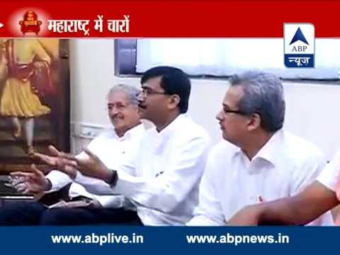 ABP LIVE l Maha alliances crumble, Sena-BJP, Congress-NCP part ways