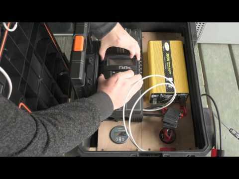 Portable Solar Generator Build