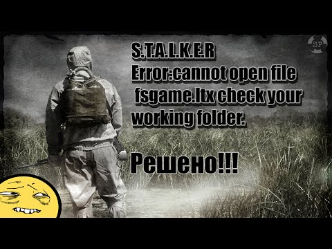 Stalker Call of Pripyat [PORADNIK] fsgame. ltx - YouTube