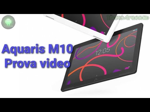Prova video BQ Aquaris M10 Ubuntu edition by Tecnoandroid