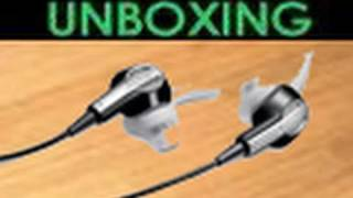 Bose IE2 Headphones - UNBOXING