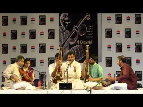 (Subtitled) raama nee samaana evaru - Kharaharapriya - TM Krishna