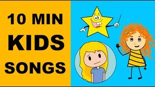 Color Song for Kids | Incy Wincy Spider Lyrics | Finger Song and ++ | Preschool Songs