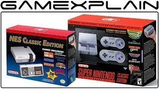 NES Classic Returns Summer 2018 + SNES Classic Inventory to Be Expanded & Sales Extended to 2018
