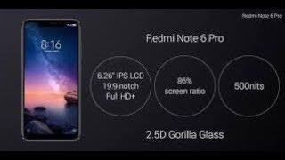 Xiaomi Redmi Note 6 pro mobile review unbox at amazon best price