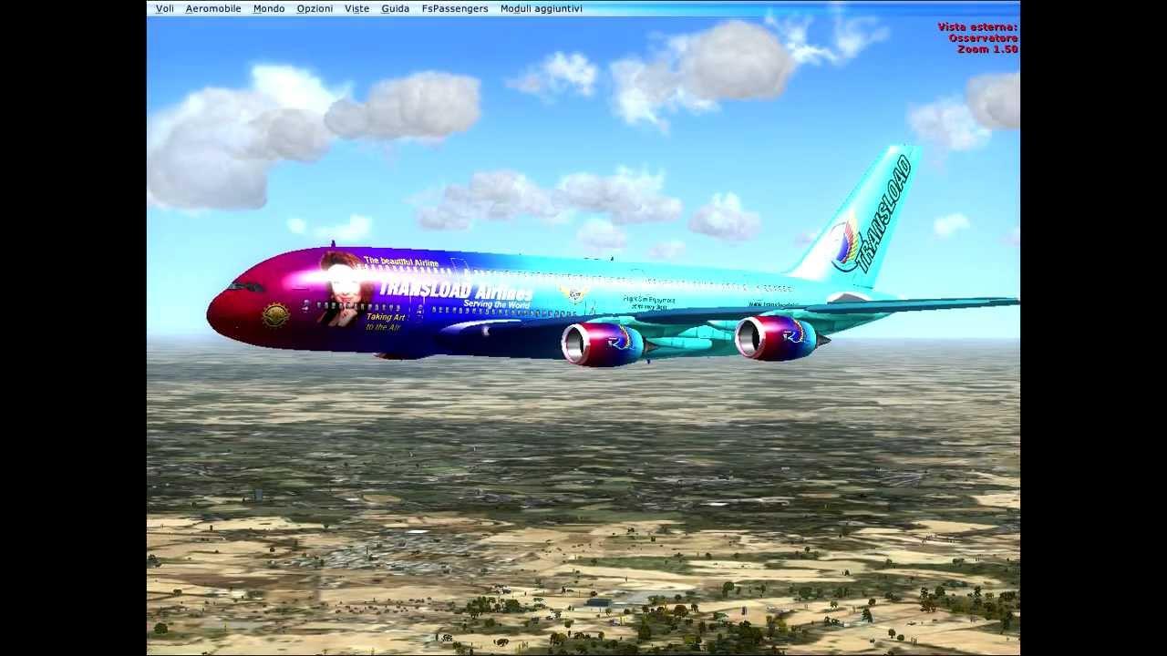 L 39 aereo pi grande e il pi bello al mondo fsx youtube for I piu fighi del mondo