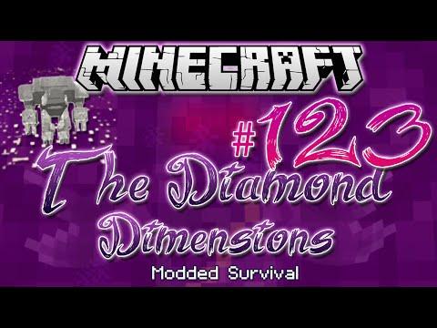 """UMBERGOLEM STATUE"" | Diamond Dimensions Modded Survival #123 | Minecraft"