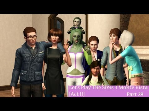 Let's Play The Sims 3 Monte Vista [Act II] Part 29-- Cinema Shakedown