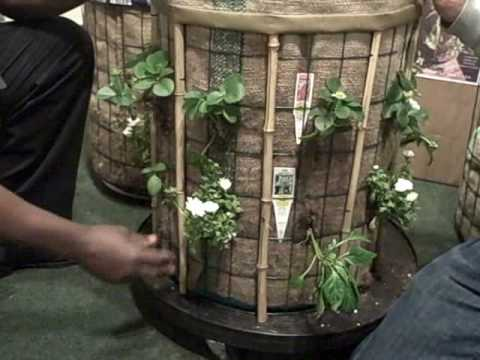 Grow 20 Square Feet of Vegetables in 4 Sq Ft of Space with the Phytopod Container Garden