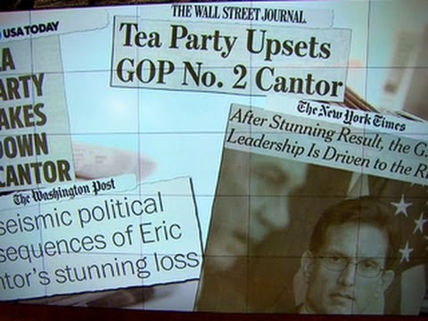 Political consequences of Eric Cantor's surprise loss
