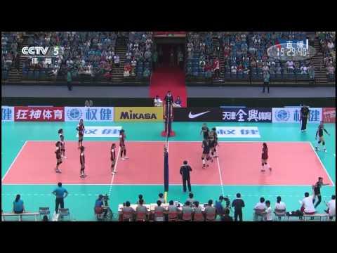 [Full]China vs Vietnam[2015 AVC Asian Women's Volleyball Championship]