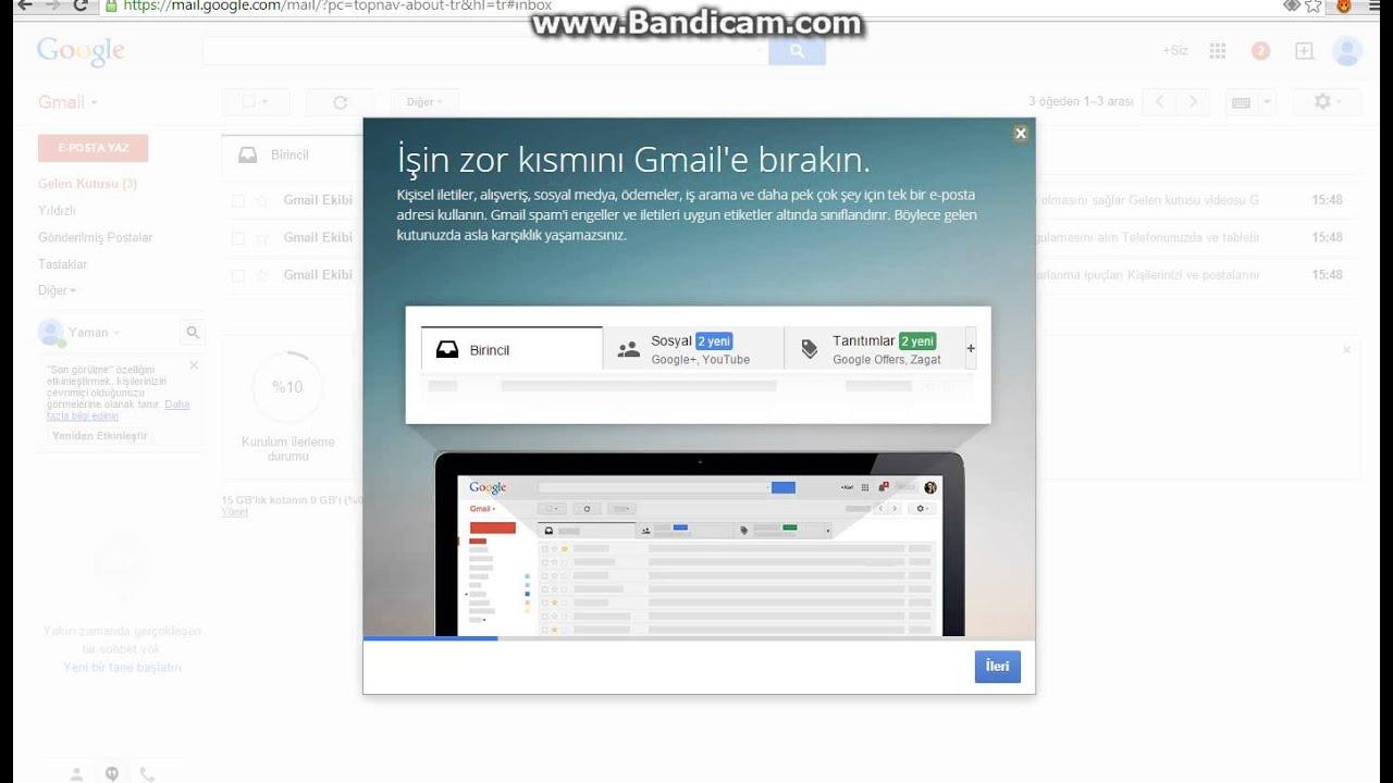 Как с gmail сделать рассылку