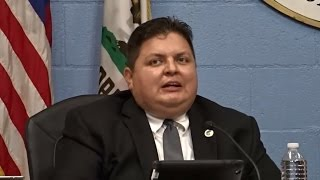 RAFAEL TRUJILLO APOLOGIZES TO RIALTO FOR ATTEMPTING TO HOLD A SECRET SANCTUARY CITY MEETING.