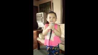 Dont you remember- Adele ( 3 yr. old  Rei Bellas cover )