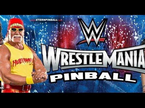 Wrestlemania Pinball Announced - #cupodcast video