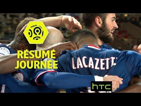 Résumé de la 18ème journée - Ligue 1 / 2016-17