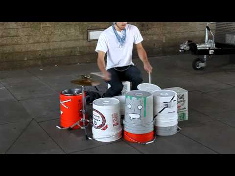 Amazing Street Drummer