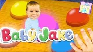 Baby Jake - Colors Adventure - The Farmer in the Dell Song