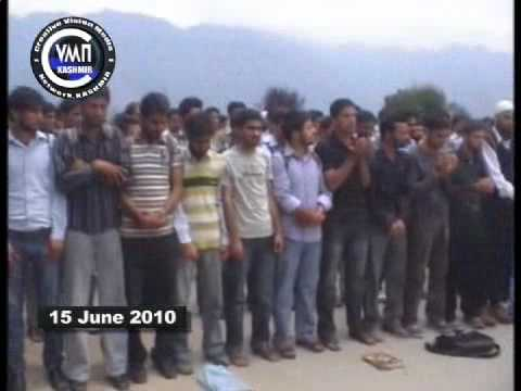 cvmnKASHMIR NEWS 15 JUNE 2010 KASHMIR UNEVERSITY STUDENTS PROTEST ON YOUTH KILLING