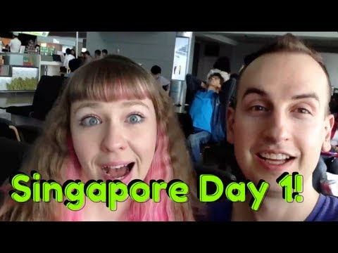 Singapore Vlog: Day 1 - Airport Nastiness!